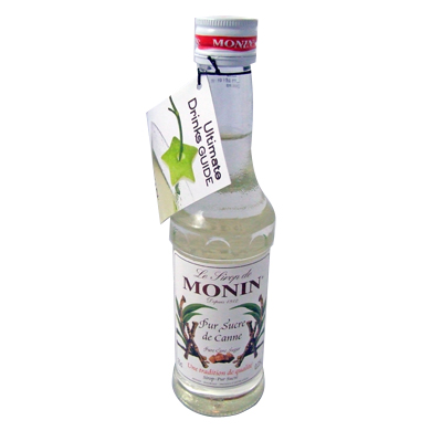 Monin Syrup - 25cl Pure Cane Sugar