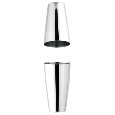 Motta 'Boston' Shaker (2-piece Stainless Steel)