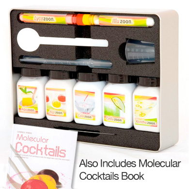 Biozoon - Cocktail Kit (Inc book 'Molecular Cocktails' by Gabriele Randel)