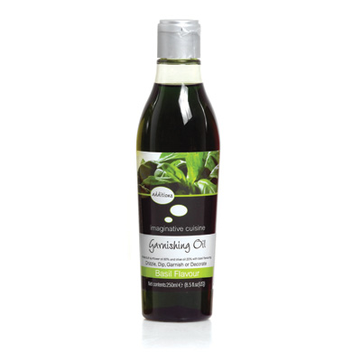 Garnishing Oil - Basil - 250ml
