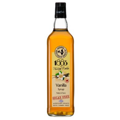 Routin 1883 Syrup - 1L Vanilla (Sugar Free) (Plastic Bottle)